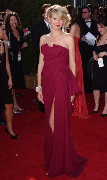 Heidi Klum 2007 Emmy Awards