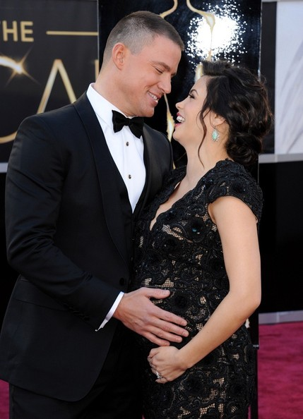 Channing Tatum And Jenna Dewan-Tatum, 2013