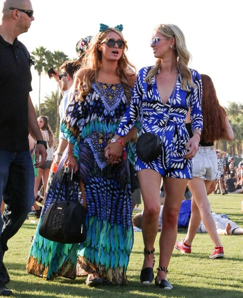 Wearing Bohemian Prints With Sister Nicky