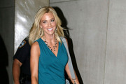 Kate Gosselin shows off her trim figure as she leaves the NBC Today Show.