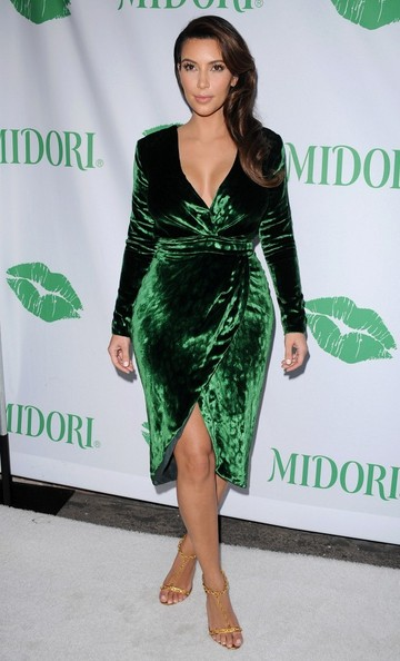 Green Gucci Sophistication During A 2012 Event