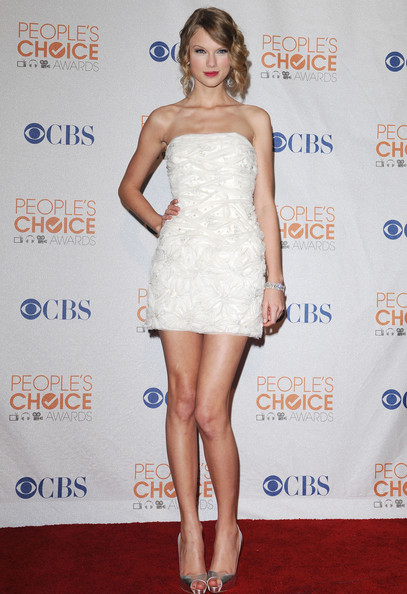 Jenny Packham for the 2010 People's Choice Awards