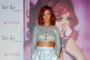 Rihanna celebrates the launch of her first fragrance 'Reb'l Fleur'. .Macy's Lakewood, Lakewood, CA.February 18, 2011.