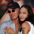 Billy Bob Thornton and Angelina Jolie wore vials of each other's blood.