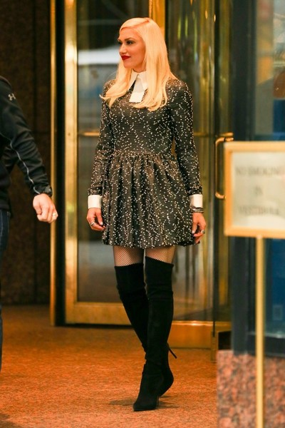 When She Looked Fab in Thigh High Boots and a Mini Dress