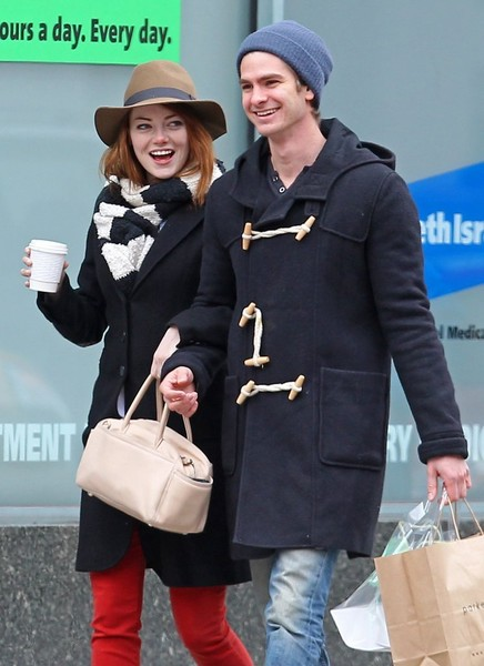 Emma Stone Andrew Garfield Here S What Celebs Get Each Other