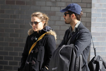 Latest Pictures of Pregnant Natalie Portman And Benjamin Millepied Out for a Walk