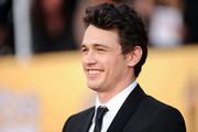 Actor James Franco arrives at the 17th Annual Screen Actors Guild Awards held at The Shrine Auditorium on January 30, 2011 in Los Angeles, California.