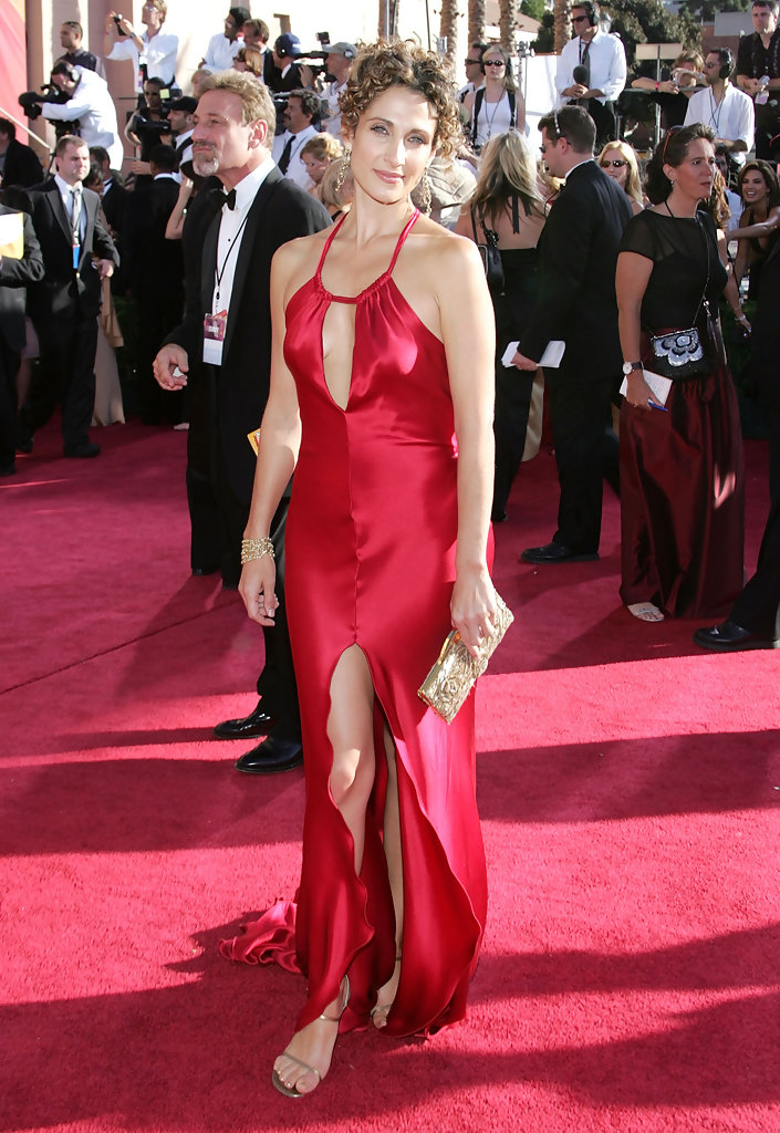 Melia Kanakaredes 2004 The Most Daring Emmy Dresses Of