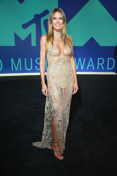 Heidi Klum in Dundas at the MTV VMAs