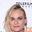 Diane Kruger's Side-Swept Crimped Curls at the Toronto Film Festival