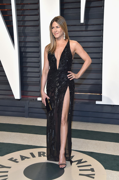 Jennifer Aniston in Beaded Black