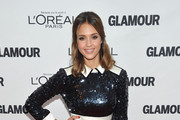 Actress Jessica Alba attends the 21st annual Glamour Women of the Year Awards at Carnegie Hall on November 7, 2011 in New York City.