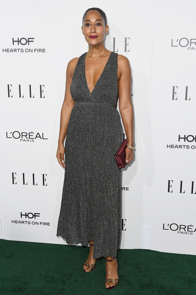 Tracee Ellis Ross in Gunmetal Pleats