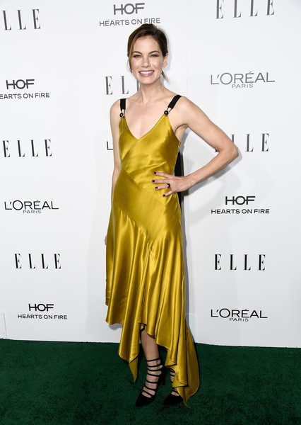 Michelle Monaghan in Gold Silk