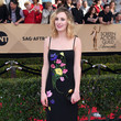 Laura Carmichael in Embroidered Flowers