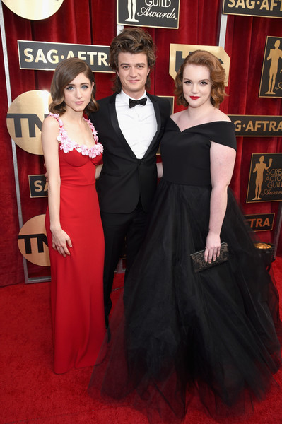 Shannon, Joe And Natalia At The 2017 SAG Awards
