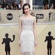 Allison Williams in Ralph & Russo Couture at the SAG Awards