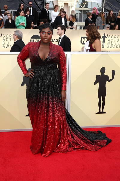 Danielle Brooks in Marc Bouwer