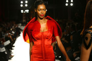 Model Jessica White walks the runway during the 2nd Annual amfAR Inspiration Gala at The Museum of Modern Art on June 14, 2011 in New York City.