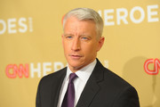 CNN's Anderson Cooper attends the 2009 CNN Heroes Awards held at The Kodak Theatre on November 21, 2009  in Hollywood, California.