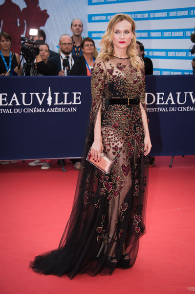 Diane Kruger in Elie Saab Couture at the 2016 Deauville American Film Festival