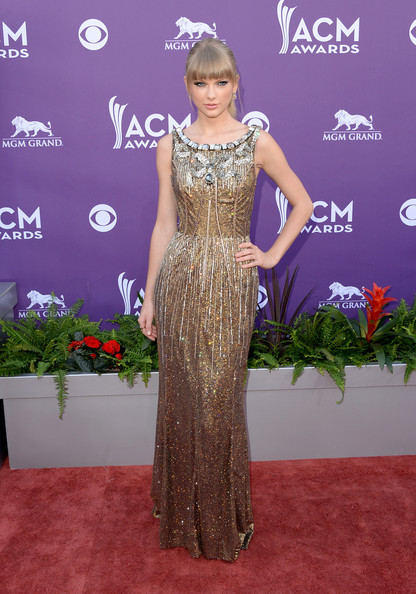 Dolce & Gabbana at the 2013 ACM Awards