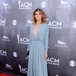 Faith Hill In Saint Laurent At The ACM Awards, 2014