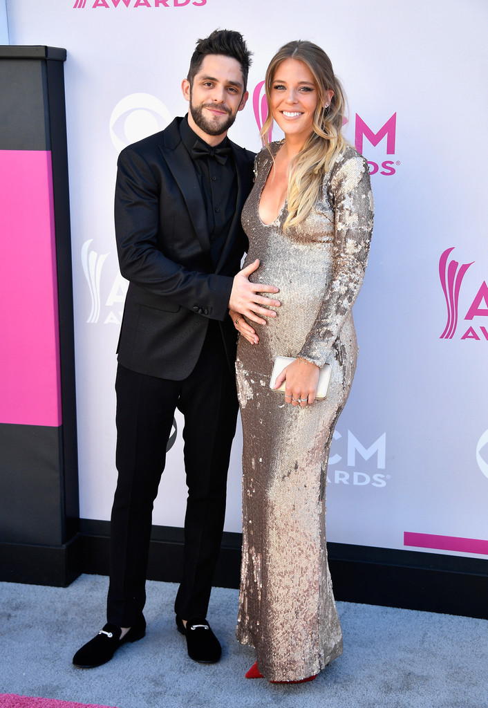 Thomas Rhett Lauren Gregory Akins The Cutest Couples At The