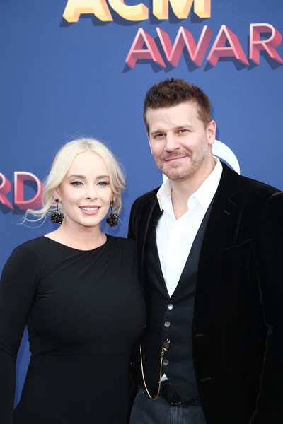 Jaime Bergman And David Boreanaz