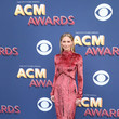 Jennifer Nettles In J. Mendel At The ACM Awards, 2017