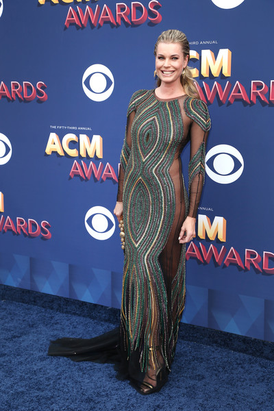 Rebecca Romijn In Uel Camilo At The ACM Awards