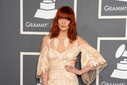 Singer Florence Welch of Florence and the Machine arrives at The 53rd Annual GRAMMY Awards held at Staples Center on February 13, 2011 in Los Angeles, California.