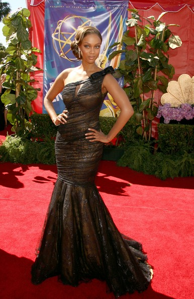 Tyra Banks 2006 Emmy Awards