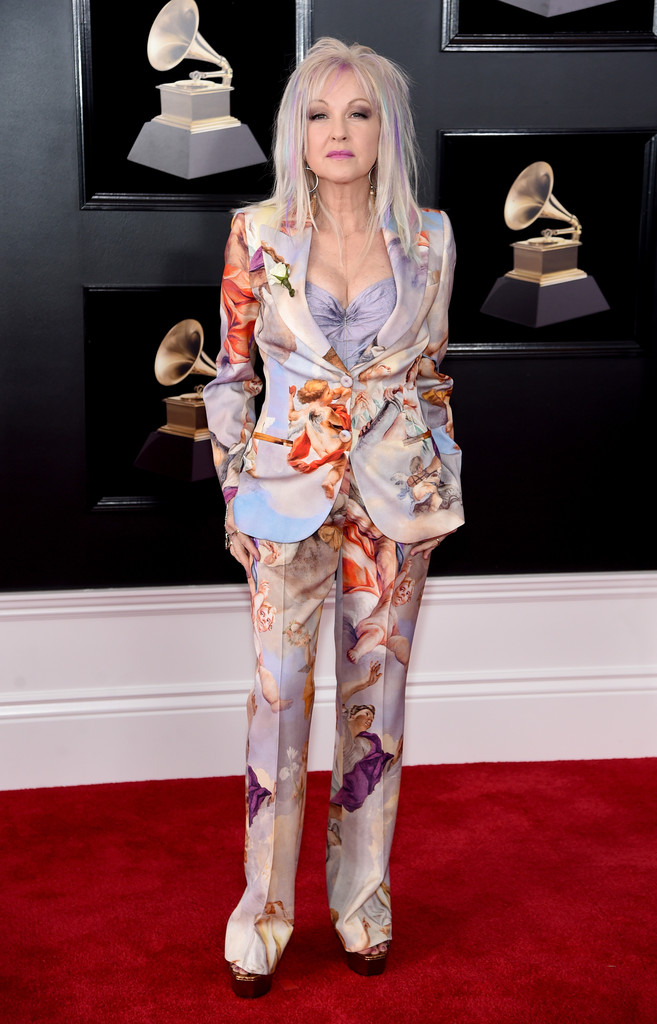 Cyndi Lauper The Most Daring Red Carpet Looks At The