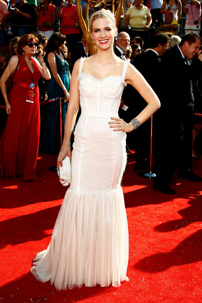 January Jones 2008 Emmy Awards