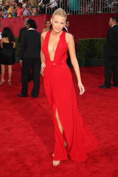 Blake Lively 2009 Emmy Awards