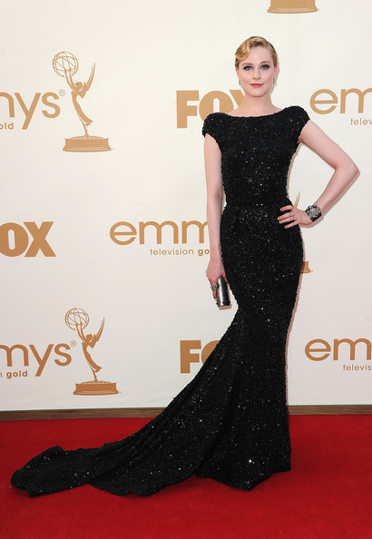 Evan Rachel Wood 2011 Emmy Awards