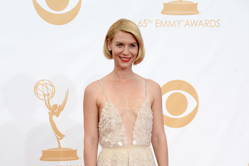 Claire Danes in Armani Prive on the Emmys Red Carpet