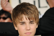 Singer Justin Beiber arrives at the 68th Annual Golden Globe Awards held at The Beverly Hilton hotel on January 16, 2011 in Beverly Hills, California.