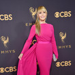 Jane Fonda in Brandon Maxwell at the Emmy Awards