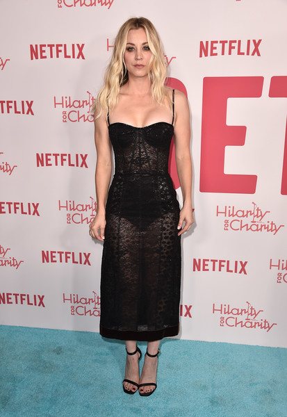 Kaley Cuoco In J. Mendel At The Hilarity For Charity Event