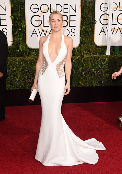 Kate Wearing Atelier Versace For The Golden Globes, 2015