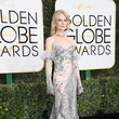 Nicole Kidman in Alexander McQueen at the Golden Globe Awards