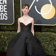 Alison Brie In Vassilis Zoulias At The Golden Globes