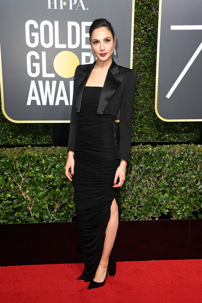 Gal Gadot In Tom Ford The Most Daring Black Dresses At