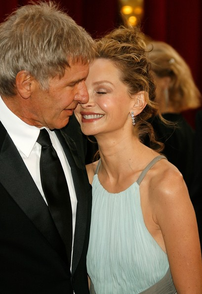 Harrison Ford And Calista Flockhart, 2008