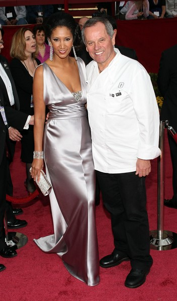 Wolfgang Puck And Gelila Assefa, 2008