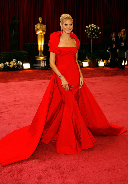Heidi Klum at the 2008 Oscars