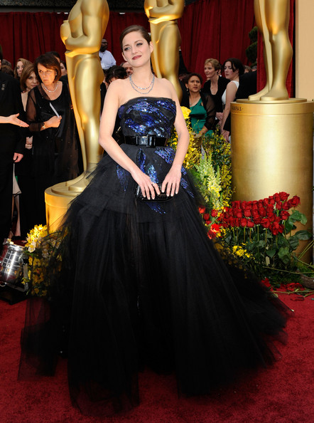 Marion Cotillard at the 2009 Oscars